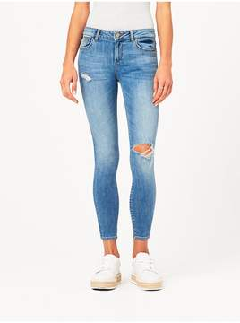 DL1961 | Margaux Mid Rise Ankle Skinny | Quincy | Xl | Quincy