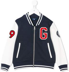 Gant Kids patch detailed bomber jacket