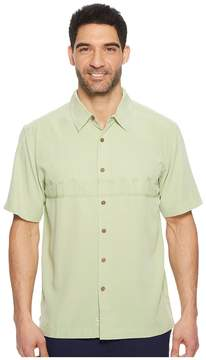 Quiksilver Waterman Tahiti Palms 4 Traditional Polynosic Woven Top Men's Clothing