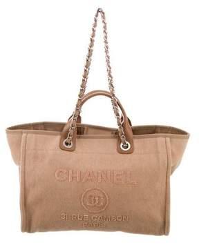Chanel 2017 Medium Deauville Sequin Tote