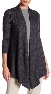 Adrienne Vittadini Long Sleeve Open Front Cardigan