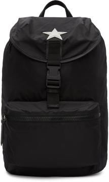 Givenchy Black Nylon Stars Backpack