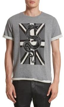 Pierre Balmain Men's Print Fleece T-Shirt