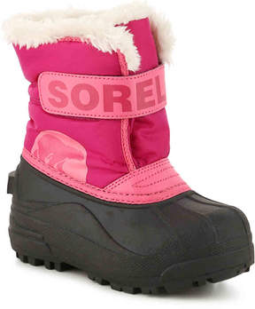Sorel Girls Snow Commander Toddler & Youth Snow Boot