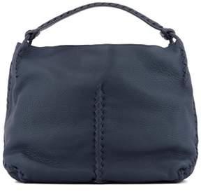 Bottega Veneta Women's Blue Leather Shoulder Bag.