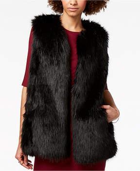 Armani Exchange Faux Fur Vest