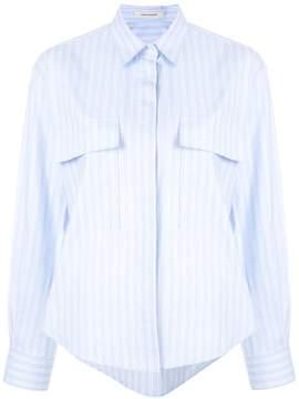 Cédric Charlier flap pocket shirt