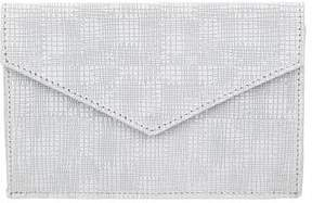 Barneys New York Barney's New York Textured Leather Envelope Clutch