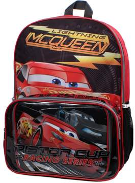 Disney Pixar Cars Lightning McQueen Backpack & Lunch Bag Set