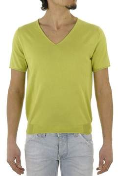 H953 Men's Green Cotton T-shirt.
