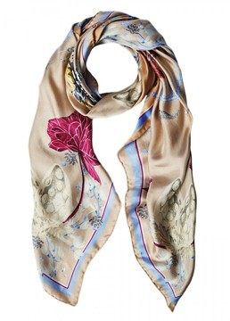 Matthew Williamson Ocelot Dna Silk Scarf