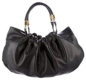 Emporio Armani Soft Leather Hobo