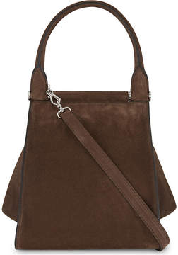 Max Mara Softy medium suede tote