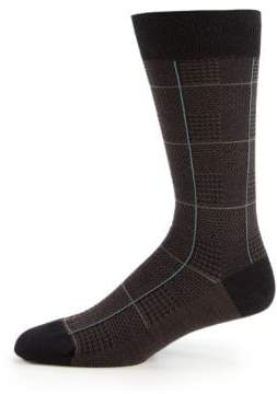 Pantherella Strachey Plaid Socks