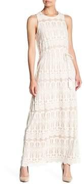 Eliza J Sleeveless Blouson Maxi Dress