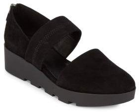 Eileen Fisher Top Strap Slip On Shoes