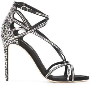Dolce & Gabbana rhinestone sandals