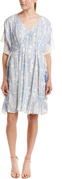 Kas Malaga Accordion Pleat Dress
