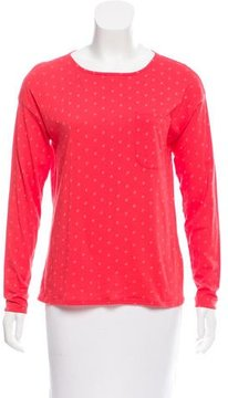 Chinti and Parker Star Printed Long Sleeve Top