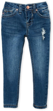 Vigoss Toddler Girls) Sequin Dog Pocket Skinny Jeans