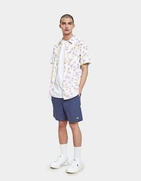 Obey Felix Woven SS Shirt in White Multi