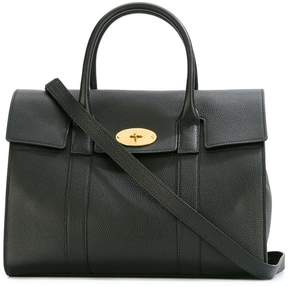 Mulberry fold-over closure tote
