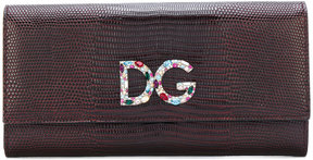 Dolce & Gabbana logo flap purse - RED - STYLE
