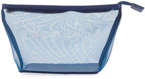 Neiman Marcus Vitamin Sea Mesh Cosmetic Bag
