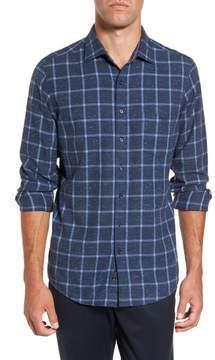 Rodd & Gunn Men's Paringa Sports Fit Windowpane Sport Shirt