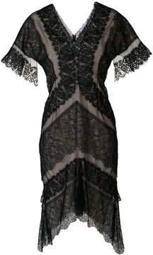 Blumarine floral lace dress