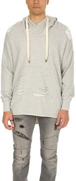 NSF Jay Destroyed Hooded Poncho