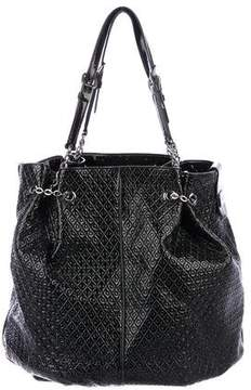 Tod's Patent Quilted Leather Tote
