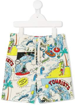 Stella McCartney Josh print shorts