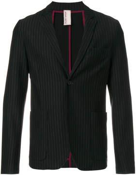 Antonio Marras striped V-neck blazer