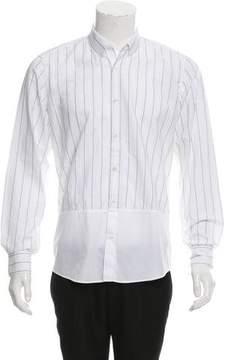 Dries Van Noten Striped Button-Up Shirt