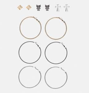 Avenue Novelty Stud Earring Set