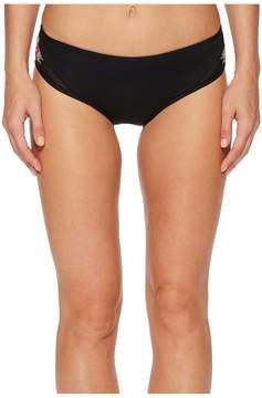 Bikini Lab THE Love On Trop Cutout Hipster Bikini Bottom Women's Swimwear