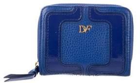 Diane von Furstenberg Leather Compact Wallet