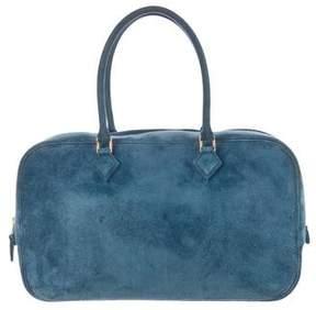 Hermes Veau Doblis Plume 28 - BLUE - STYLE
