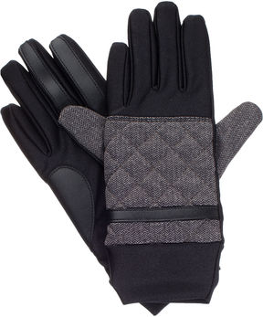 Isotoner Quilted Glove with smarTouch Technology