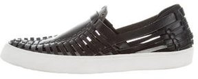 Derek Lam 10 Crosby Leather Slip-On Sneakers