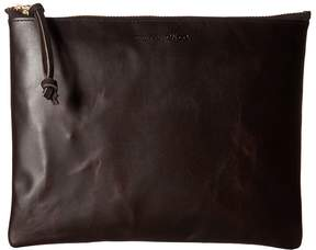 Filson Large Leather Pouch Handbags