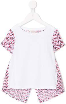 Emporio Armani Kids geometric print blouse