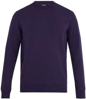 A.P.C. Ronnie crew-neck jersey sweatshirt