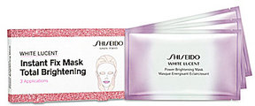 Shiseido White Lucent Total Brightening Instant Fix Mask