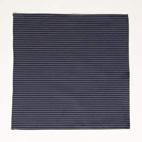 Blade + Blue Japanese Indigo Dyed Navy Stripe Pocket Square