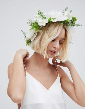 Asos BRIDAL Statement Floral Vine Headband