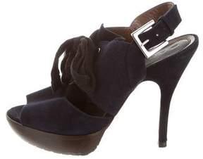 Marni Platform Suede Sandals