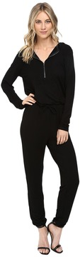 Culture Phit Dayna Long Sleeve Zip-Up Jumper with Hood Women's Jumpsuit & Rompers One Piece