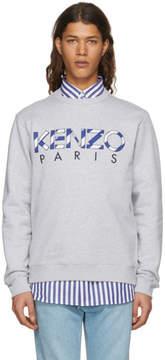 Kenzo Grey Logo Sweatshirt
